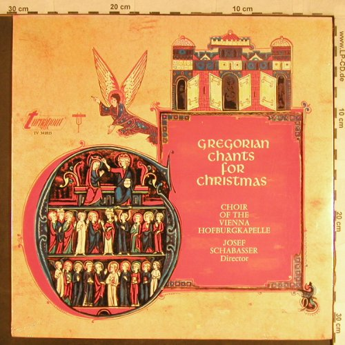V.A.Gregorian Chants for Christmas: Choir of the Vienna Hofburgkapelle, Turnabout Vox(TV 34181S), US, FS-New,  - LP - L1683 - 9,00 Euro