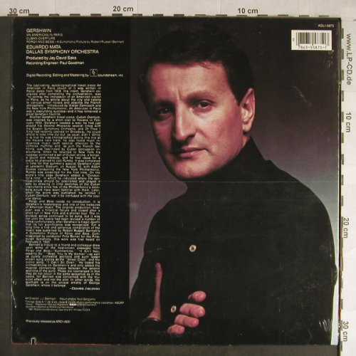 Gershwin,George: Ein Amerikaner in Paris, FS-New, RCA Gold Seal(AGL1-5875), US, co, 1981 - LP - L1711 - 9,00 Euro