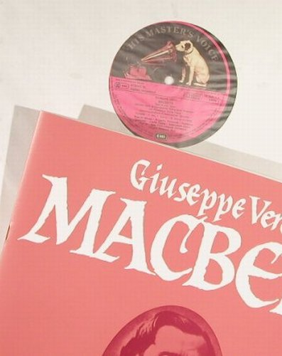 Verdi,Giuseppe: Macbeth,Box, EMI(29 0385 3), D, 1976 - 2LP - L1787 - 9,00 Euro