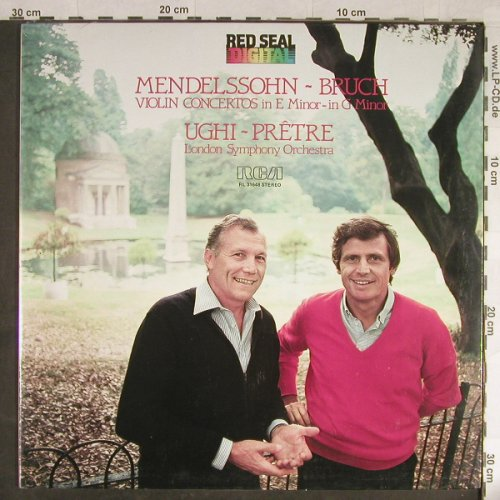 Mendelssohn,Felix / Max Bruch: Violin Concertos in e minor/g minor, RCA Red Seal(RL 31648), I, FS-New,  - LP - L1825 - 12,50 Euro