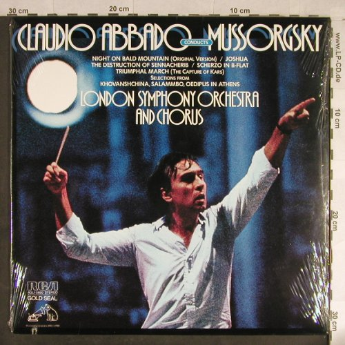 Mussorgsky,Modest: Claudio Abbado Conducts, FS-New, RCA Gold Seal(AGL1-5880), US, co, 1981 - LP - L1826 - 12,50 Euro