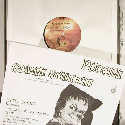 Puccini,Giacomo: Gianni Schicchi, Box, Angel(35473), US,  - LP - L1845 - 7,50 Euro