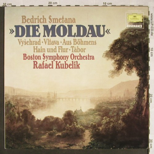 Smetana,Friedrich: Die Moldau, D.Gr. Resonance(2535 132), D, 1971 - LP - L1948 - 5,00 Euro