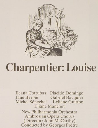 Charpentiers,Gustave: Louise, Box, CBS Masterworks(79302), NL, 1976 - 3LP - L1950 - 15,00 Euro