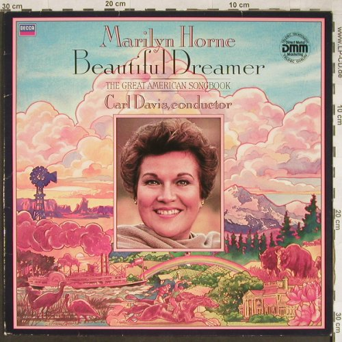 Horne,Marylin: Beautiful Dreamer, m /vg+, Decca(6.43363 AZ), D, 1986 - LP - L1993 - 5,00 Euro