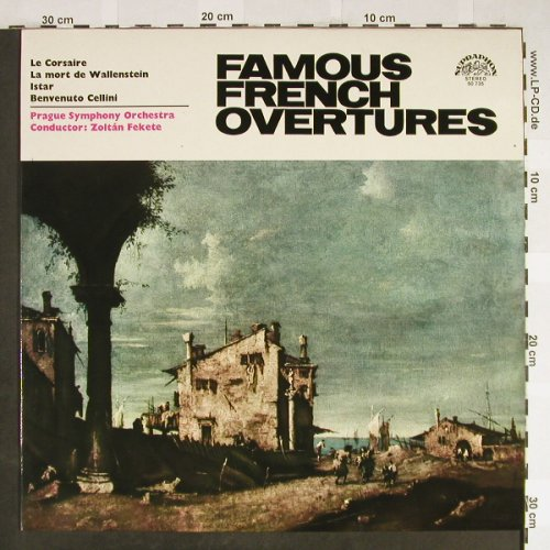 V.A.Famous French Overtures: The Corsair,The Death of Wallenst.., Supraphon(50 735 G), CZ, 1966 - LP - L2190 - 6,00 Euro