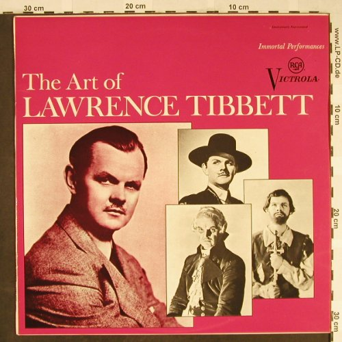 Tibbett,Lawrence: The Art Of, m-/vg+, RCA(VICS-1340), US, 1968 - LP - L2195 - 5,00 Euro