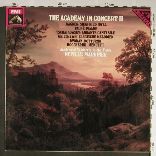 V.A.The Academy in Concert 2: Wagner,Faure,Tschaikowsky..., EMI(32 295-8), D,Club.Ed, 1980 - LP - L2216 - 5,00 Euro