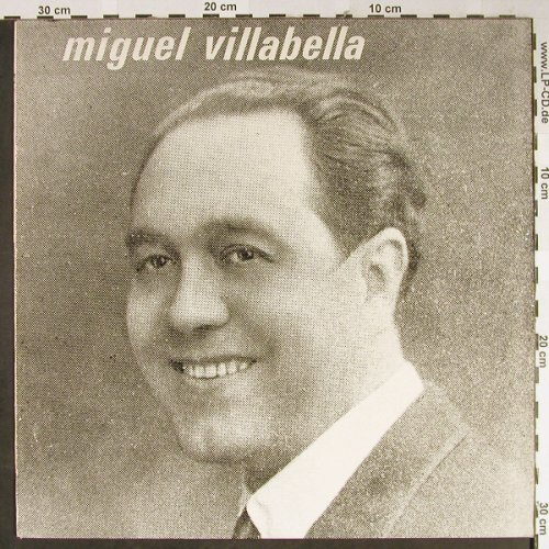 Villabella,Miguel: Same, Rubini Collection(GV 547), UK,  - LP - L2331 - 6,00 Euro