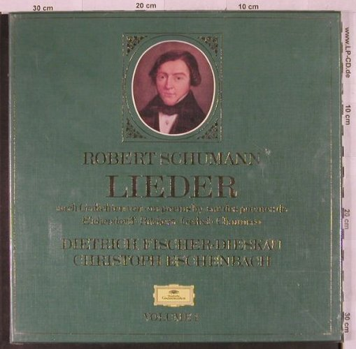Schumann,Robert: Lieder Vol.1, Box, FS-New, Deutsche Gramophon(2740 167), D,  - 3LP - L2617 - 15,00 Euro