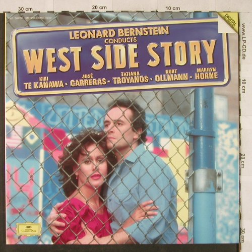 West Side Story: Conducted by L.Bernstein,Foc, Deutsche Gramophon(415 253-1), D, 1985 - 2LP - L2828 - 6,00 Euro