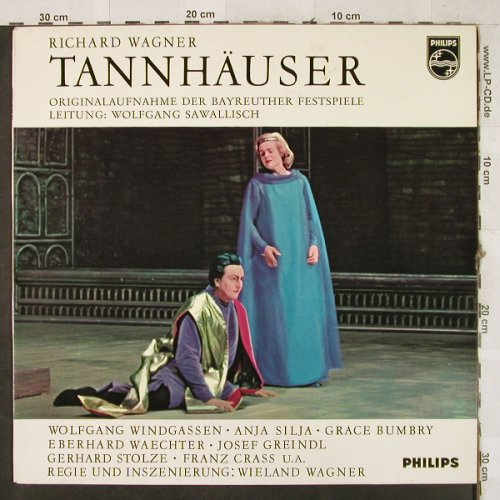 Wagner,Richard: Tannhäuser-Höhepunkte, sealed/vg+, Philips(837 025 GY), D,  - LP - L3003 - 5,00 Euro