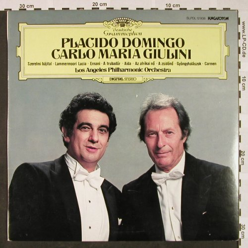 Domingo,Placido: Same, Hungaroton(SLPDL 12938), H, 1981 - LP - L3214 - 5,50 Euro