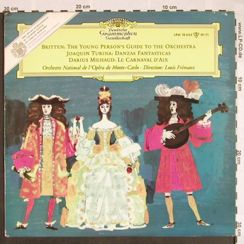 Britten,Benjamin: The Young Person's Guide to theOrch, D.Gr.(LPM 18 654), D, 1962 - LP - L350 - 9,00 Euro