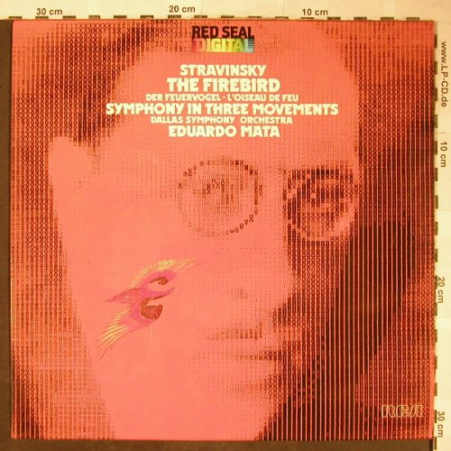 Strawinsky,Igor: The Firebird/Sinfonie In 3 Sätzen, RCA Red Seal(RL 13459), D, 1980 - LP - L3551 - 5,00 Euro