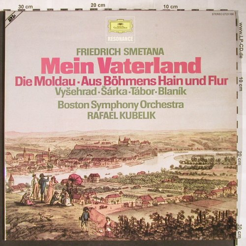 Smetana,Friedrich: Mein Vaterland,Foc, D.Gr. Resonance(2721 156), D, 1971 - 2LP - L3564 - 6,00 Euro