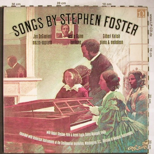 Foster,Stephen: Songs by, Foc, Nonesuch(H-71268), US, 1972 - LP - L3617 - 7,50 Euro