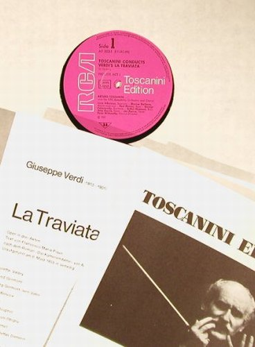 Verdi,Giuseppe: La Traviata, Box, RCA(AT 202/1-2), D, 1975 - 2LP - L3666 - 7,50 Euro