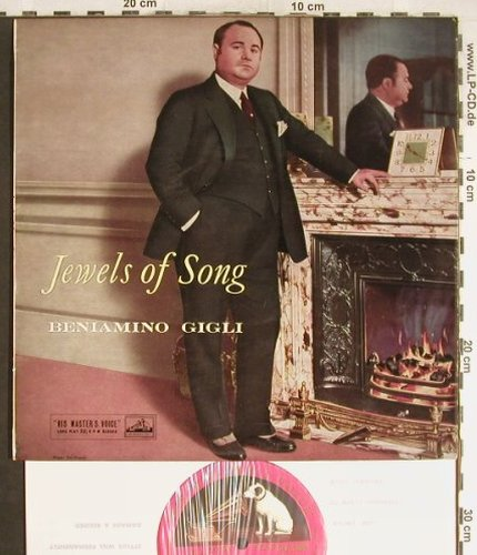 Gigli,Benjamino: Jewels of Songs, His Masters Voice(BLP 1099), UK,  - 10inch - L3692 - 9,00 Euro
