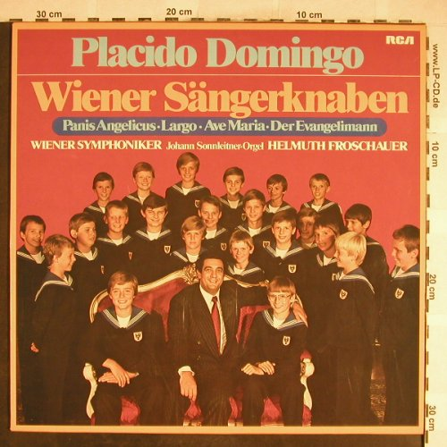 Domingo,Placido&Wiener Sängerknaben: von Herbeck...Martin Luther, RCA Red Seal(30 923 7), D, DSC, 1979 - LP - L3758 - 5,00 Euro