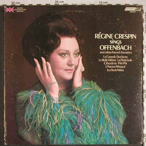 Crespin,Regine: sings Offenbach, m-/vg+, London ffrr(OS 26248), UK,  - LP - L3803 - 6,00 Euro