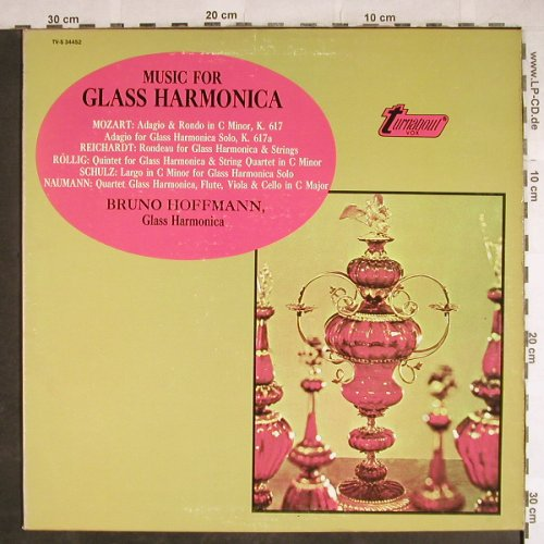 Hoffmann,Bruno: Music for Glass Harmonica, signiert, Turnabout Vox(TV-S 34452), US,  - LP - L3836 - 15,00 Euro