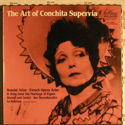 Supervia,Conchita: The Art of, Foc , (1927-31), Seraphim(IB-6135), US, co,  - 2LP - L3931 - 9,00 Euro