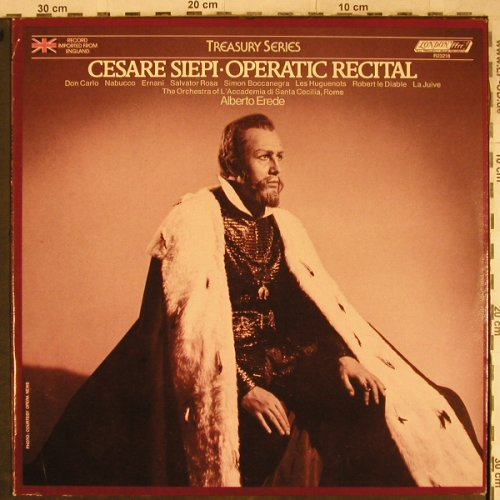 Siepi,Cesare: Operatic Recital, Richmond/London(R 23218), US, 1976 - LP - L4108 - 6,00 Euro