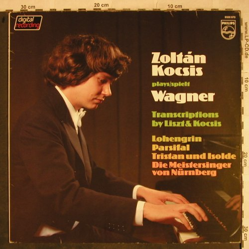 Wagner,Richard: Transcriptions by Liszt & Kocsis, Philips, stoc(9500 970), NL, m-/vg+, 1981 - LP - L4121 - 5,00 Euro