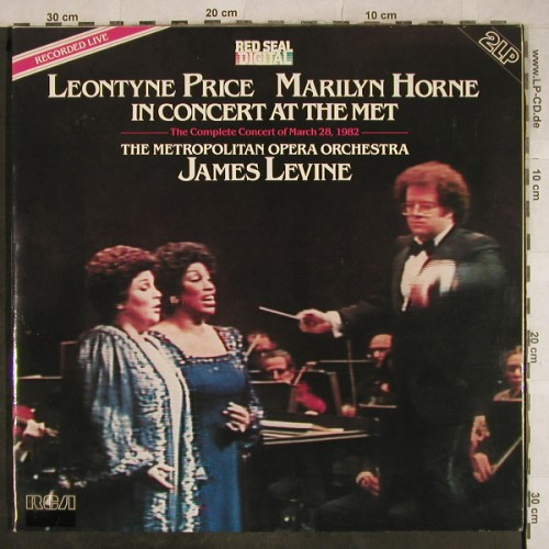 Price,Leontyne - Marilyn Horne: In Concert at the Met, Foc, RCA(RL 04609), D, 1983 - 2LP - L4149 - 7,50 Euro
