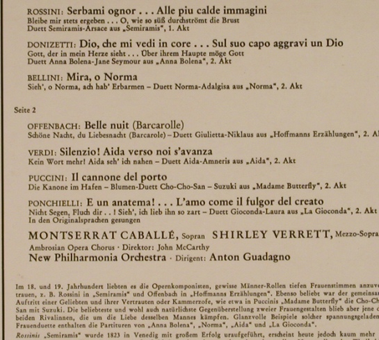 Caballe,Montserrat -Shirley Verrett: Great Operatie Duets, Norma,Semira, RCA Red Seal(LSC 3153), D,  - LP - L4156 - 6,00 Euro