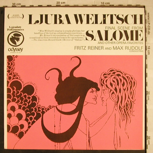 Welitsch,Ljuba: Salome - Final Scene from, Odyssey(32 16 0078), US,  - LP - L4175 - 5,00 Euro