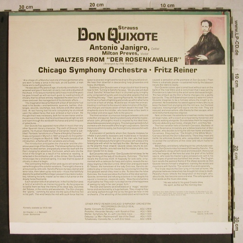 Strauss,Richard: Don Quixote,Walz fr.Rosenkavalier, RCA Gold Seal(AGL 1-3367), US,m-/vg-,  - LP - L4196 - 4,00 Euro