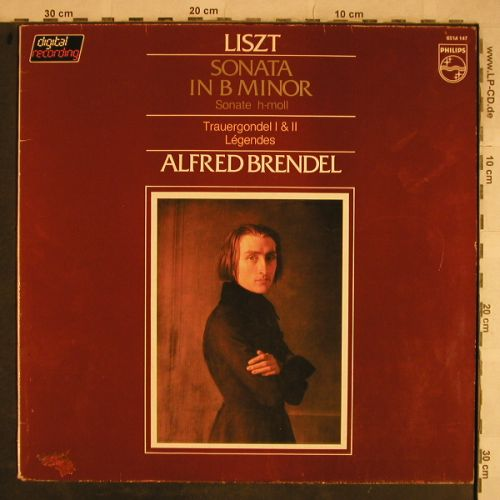 Liszt,Franz: Sonata in B Minor/Legenden/Trauerg., Philips(6514 147), NL, 1982 - LP - L4247 - 4,00 Euro