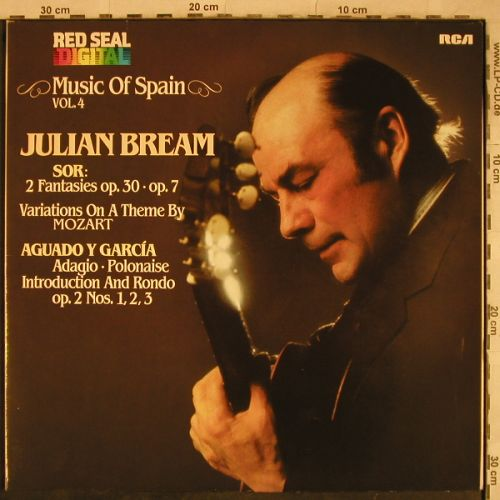 Bream,Julian: Music of Spain Vol.4, Foc, RCA(RL 14033), D, 1981 - LP - L4277 - 6,00 Euro