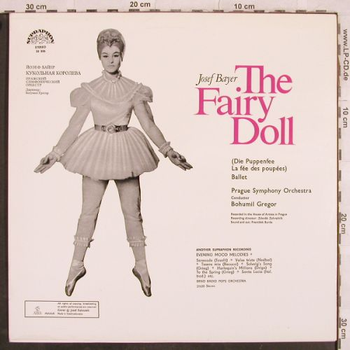 Bayer,Josef: The Fairy Doll, Supraphon(50 806), CZ, 1968 - LP - L4289 - 5,00 Euro