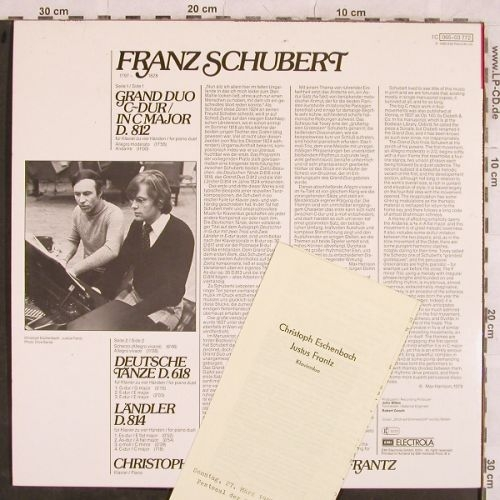Schubert,Franz: Grand Duo D.812,D.814,D.618, EMI(065-03 772), D, 1979 - LP - L4394 - 9,00 Euro