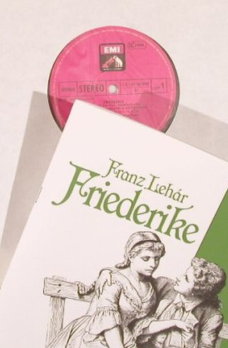 Lehar,Franz: Friederike, Box, EMI(157-30 997/98), D, co, 1981 - 2LP - L4449 - 9,00 Euro