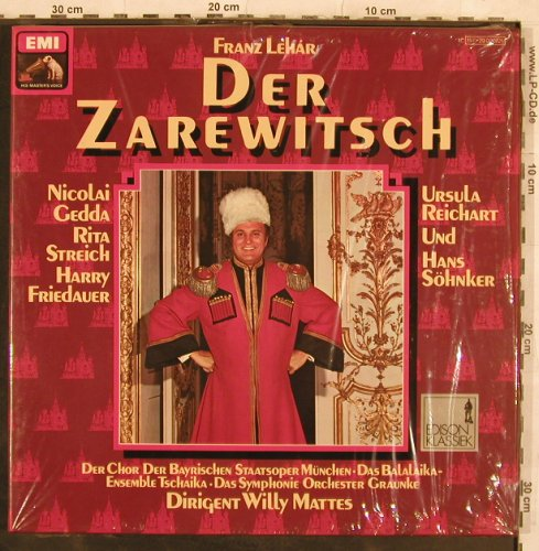 Lehar,Franz: Der Zarewitsch,Box,Ri, FS-New, EMI(157-29 020/21), D, co,  - 2LP - L4450 - 9,00 Euro