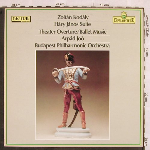 Kodaly,Zoltan: Hary Janos-Suite,Theater Overt..., Sefel Rec.(SEFD 5015), UK,  - LP - L4530 - 6,00 Euro