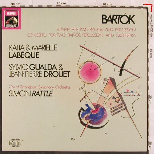 Bartok,Bela: Sonate For Two Pianos & Percussion, EMI(27 0418 1), D, m-/vg+, 1987 - LP - L4534 - 6,00 Euro