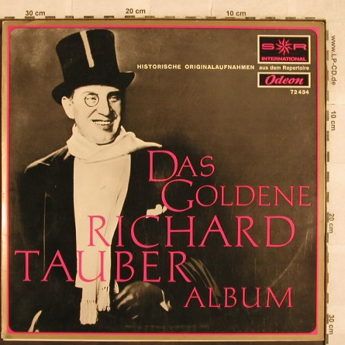Tauber,Richard: Das Goldene R.T.Album, S*R / Odeon(72 434), D,  - LP - L4727 - 5,00 Euro