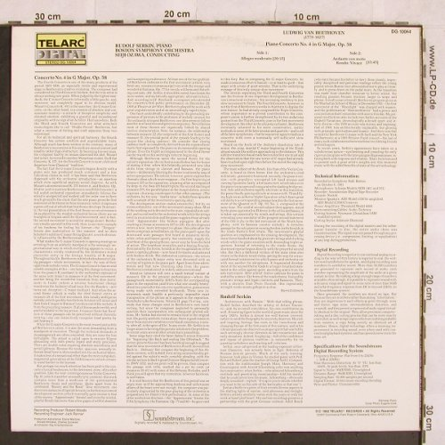 Beethoven,Ludwig van: Piano Concerto No. 4 G Major,op.58, Telarc(DG-10064), US, 1982 - LP - L4749 - 6,00 Euro
