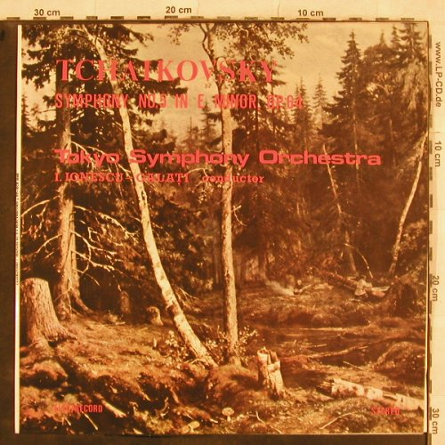 Tschaikowsky,Peter: Sinfonie Nr.5 in E Minor, op.64, Electrecord(ST-ECE 03405), RO, 1987 - LP - L4914 - 9,00 Euro