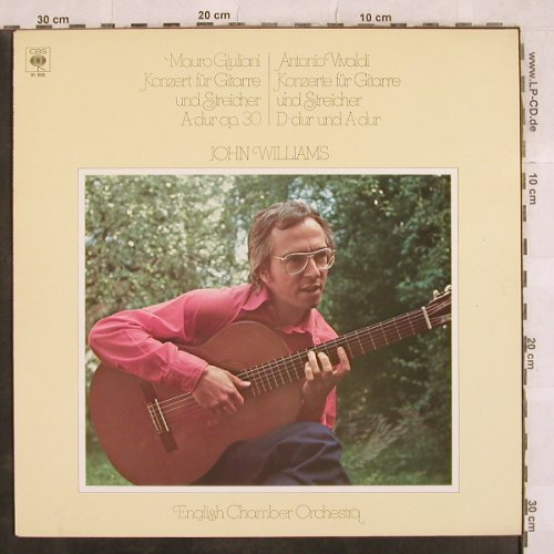 Williams,John: Mauro Giuliani Guitarrenkonzert.., CBS(CBS 61858), NL, 1979 - LP - L4967 - 6,00 Euro