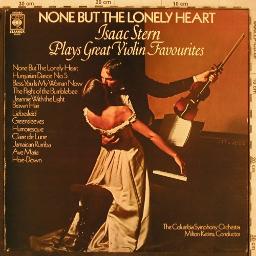 Stern,Isaac: plays Great Violin Favourites(1963), CBS(CBS 61039), UK, 1977 - LP - L5081 - 7,50 Euro