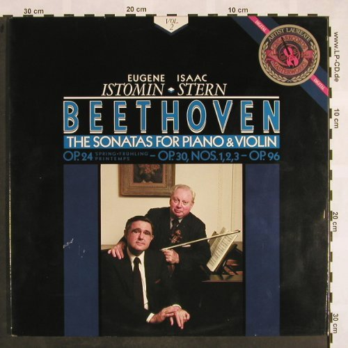 Beethoven,Ludwig van: The Sonatas for Piano&Violin, Vol.2, CBS(12M 39681), NL, m-/vg+, 1986 - 2LP - L5096 - 7,50 Euro