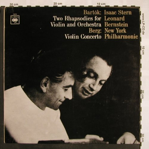 Bartok,Bela / Berg: Two Rhapsodies for Violin&Orch., CBS(72 070 SBRG), UK, m-/vg+,  - LP - L5106 - 9,00 Euro