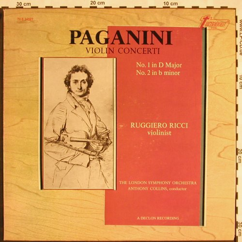 Paganini,Niccolo: Violin Concerti No.1 in D major/No2, Turnabout Vox(TV-S 34527), US, 1973 - LP - L5129 - 7,50 Euro