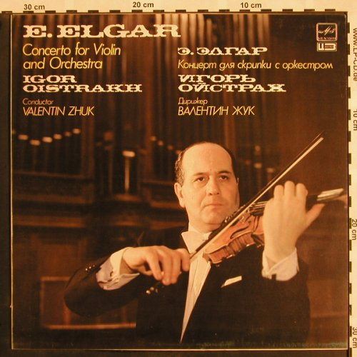 Elgar,Edward: Concerto for Violin and Orch., Melodia(A10 00123 002), UDSSR, 1985 - LP - L5173 - 7,50 Euro
